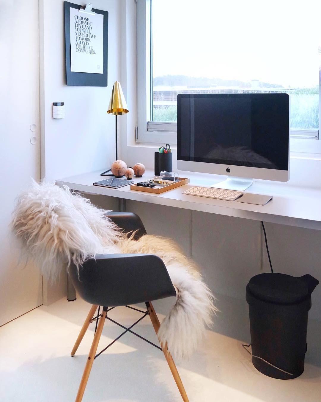 22 Scandinavian Home Office Designs Decorating Ideas: Scandinavian Design Interior Living