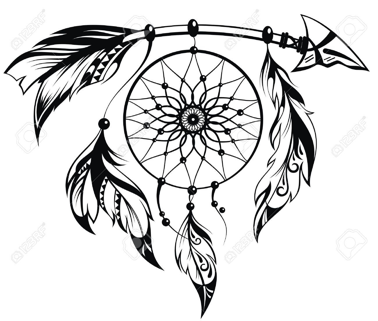 apache warrior tattoo dream catcher tattoo pinterest warrior tattoos tattoo and tatting. Black Bedroom Furniture Sets. Home Design Ideas