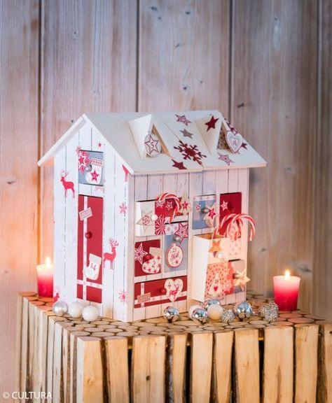 Chalet de l\u0027Avent Cosy Noel - creer une maison en 3d