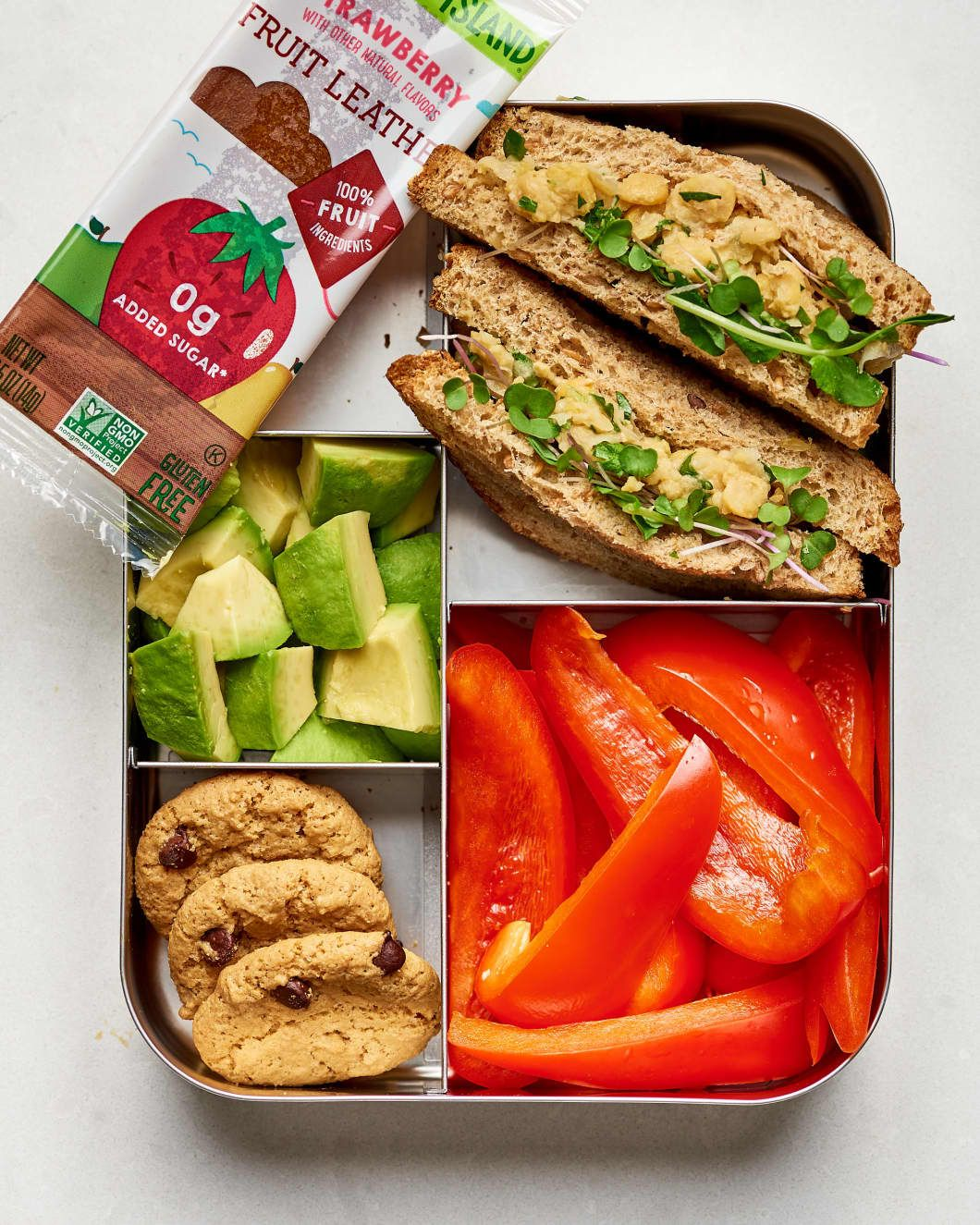 10 Easy Vegan Lunch Box Ideas images
