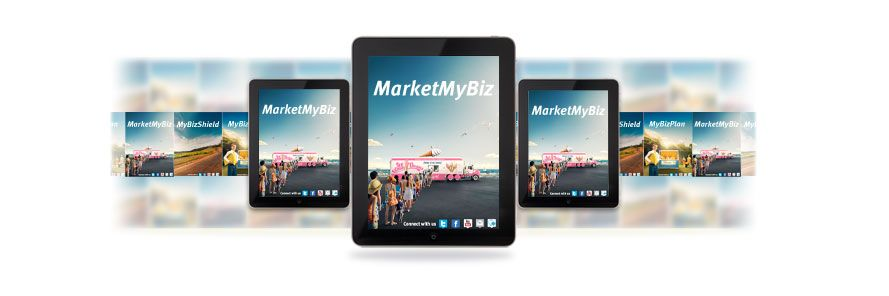 MarketMyBiz - Free marketing plan app for both iPad and