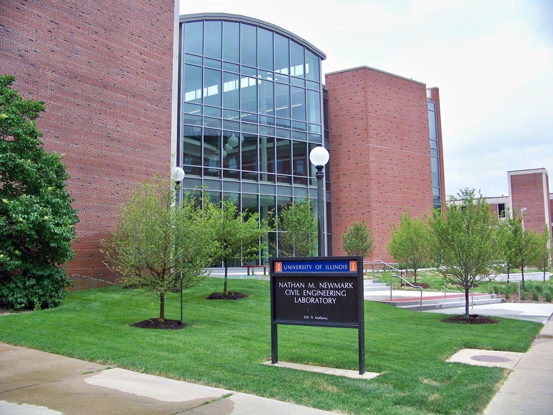 Nathan M Newmark Civil Engineering Center University Of Illinois