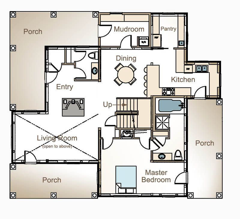 post and beam house plans floor plans