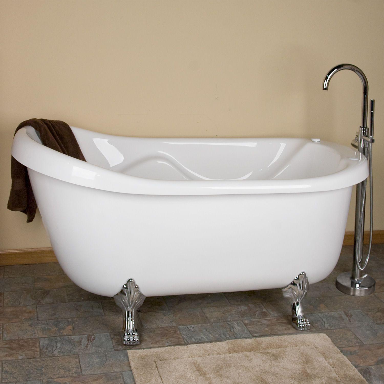 Claw Foot Tub With Jets Tub Whirlpool Tub Whirlpool Bathtub