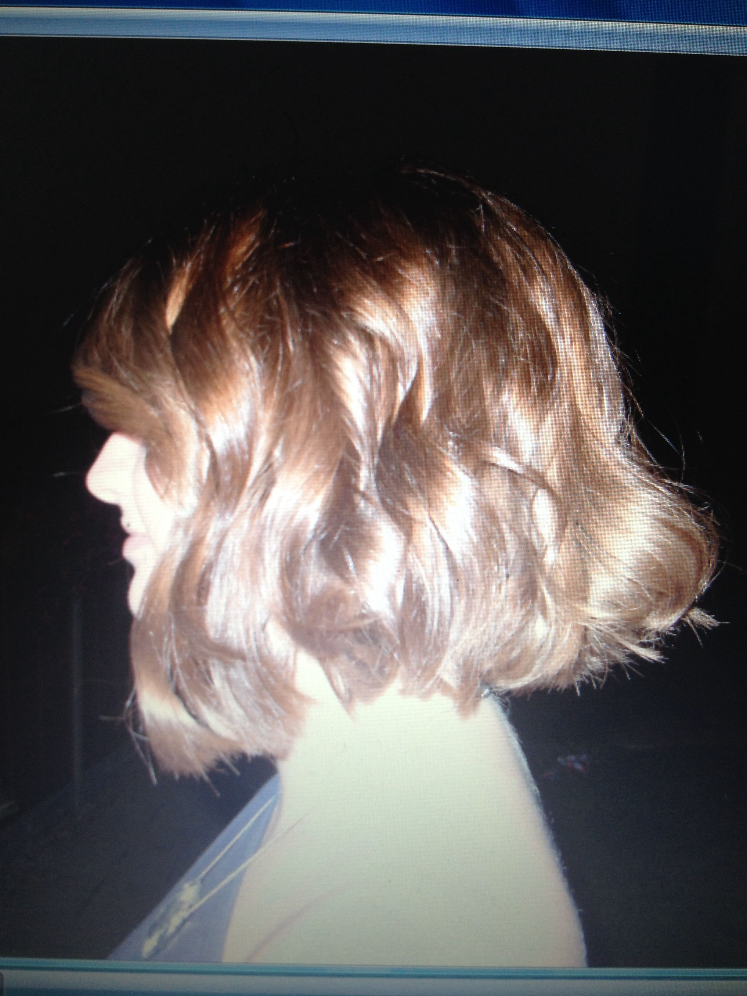 hairstyles tongs curled curls bob straighteners mix