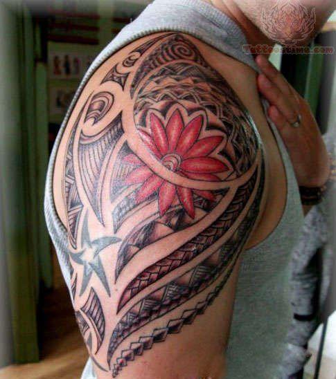 maorie tattoo pinterest oberarm tattoo m nner. Black Bedroom Furniture Sets. Home Design Ideas