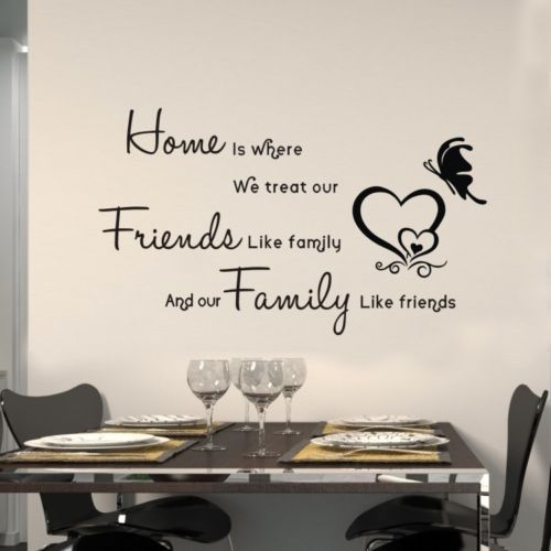 DIY Removable Art Vinyl Quote Words Wall Sticker Decal Mural Home Decor For Kids | eBay
