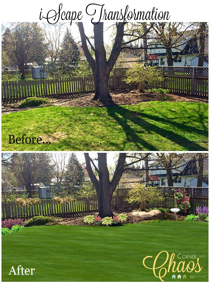 Before and After Corner Chaos New Favorite App iScape