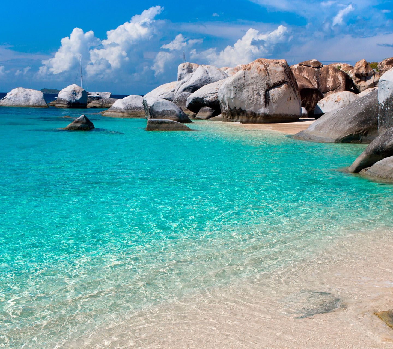 Island Beach Scenes: Summer Beach Scenes Wallpaper