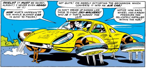 Strange Tales #135, Jack Kirby