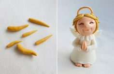 Angel Step-by-Step Tutorial for Polymer Clay, Fondant or Sugarpaste