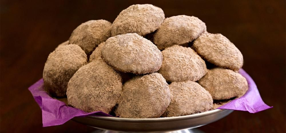 Chocolate Mexican Wedding Cookies 48 With Ghiradelli Sweet Ground Cocoa