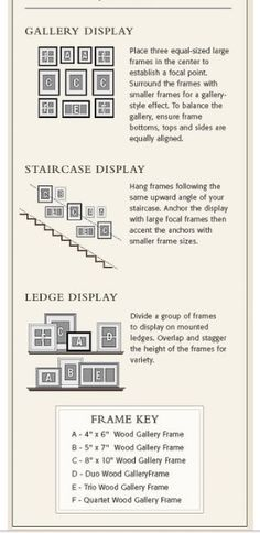 Wohnideen Bilderwand ledge display for wall going downstairs i will print frame and