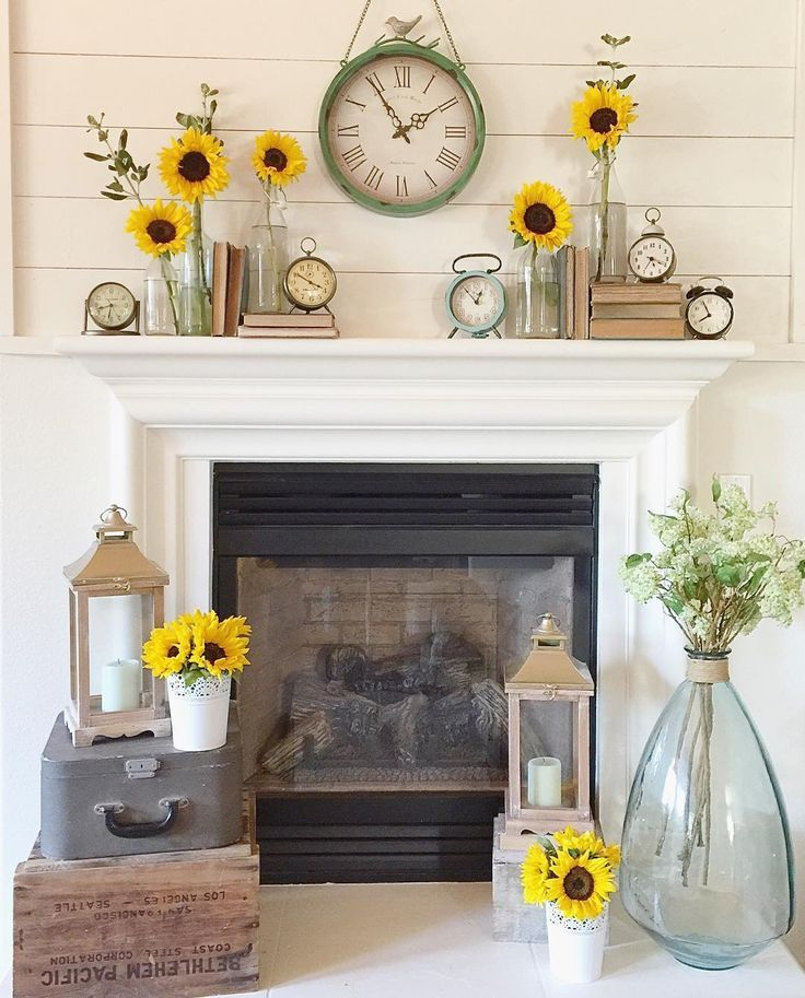 Styling your Mantel for Every Season - Decor Steals