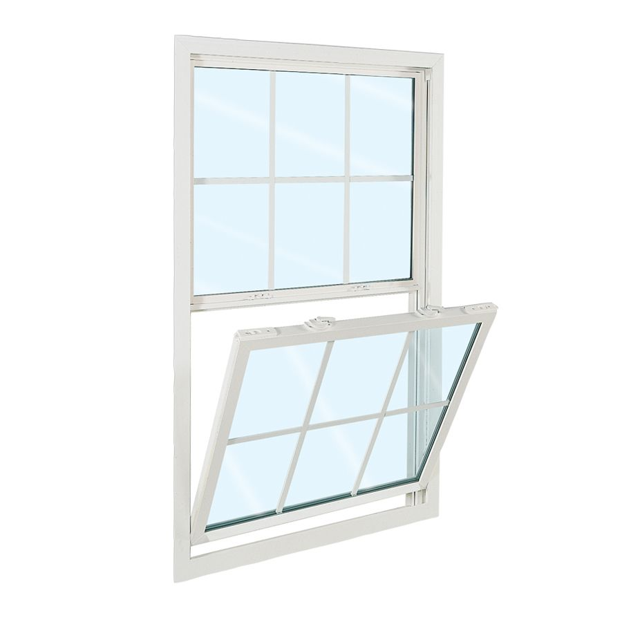 Reliabilt 3100 Series 31 5 In X 53 5 In Vinyl Replacement White Single Hung Window Lowes Com Single Hung Windows Reliabilt Vinyl Replacement Windows