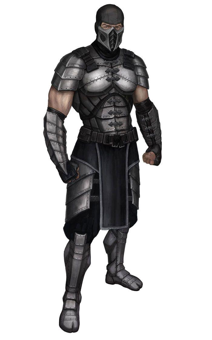 Smoke Official Render Art From Mortal Kombat 2011 Personagens