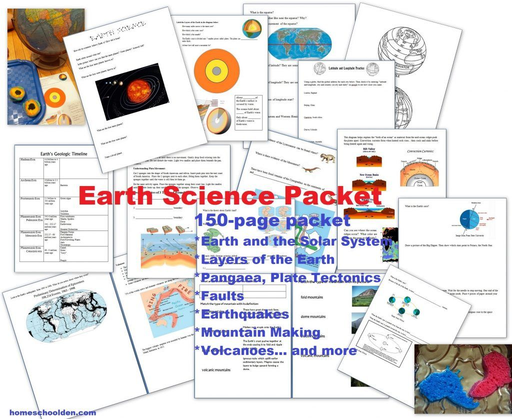 Earth S 4 Major Systems Free Atmosphere Geosphere