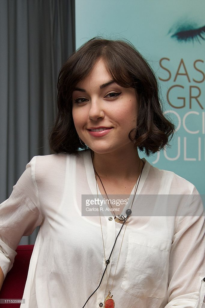 Actress Sasha Grey Presents Her Book La Sociedad De Juliette At