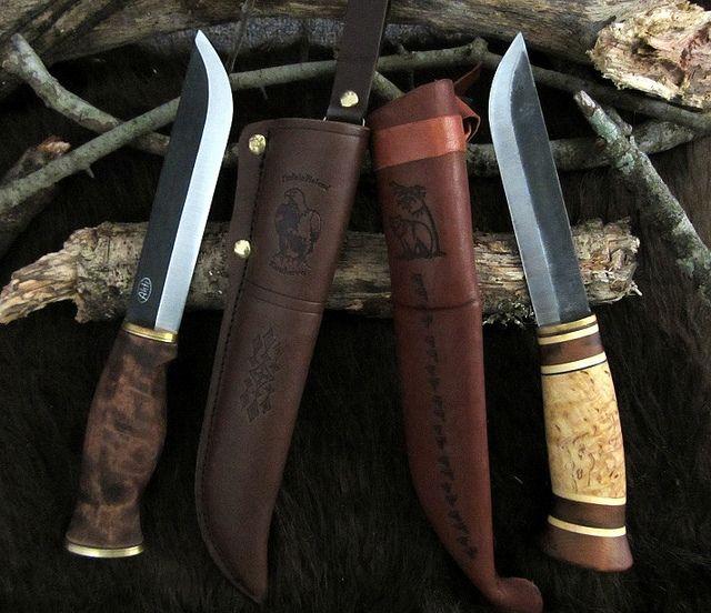 Ahti Leuku 14 5 and Kellam Tundra Leuku | Shiny | Cuchillos