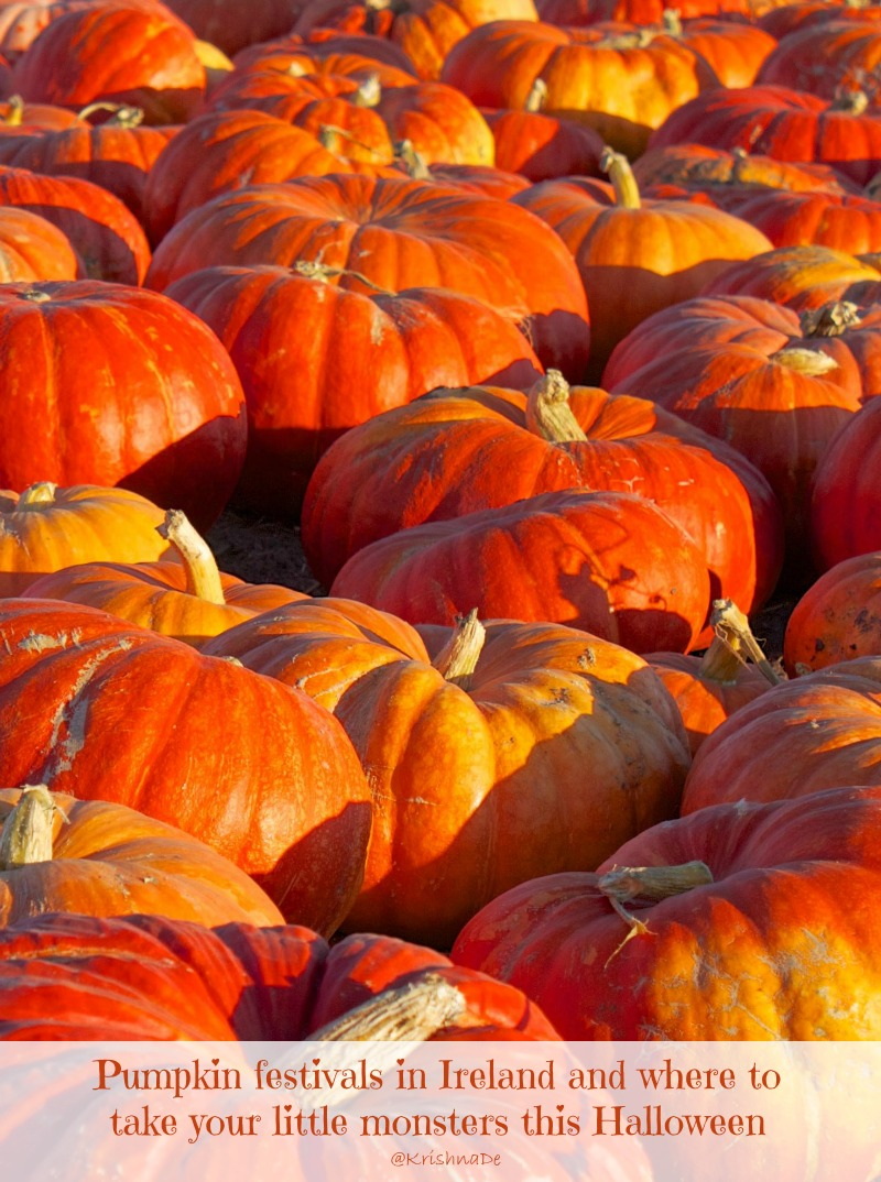 Pumpkin Festivals in Ireland and where to take your little