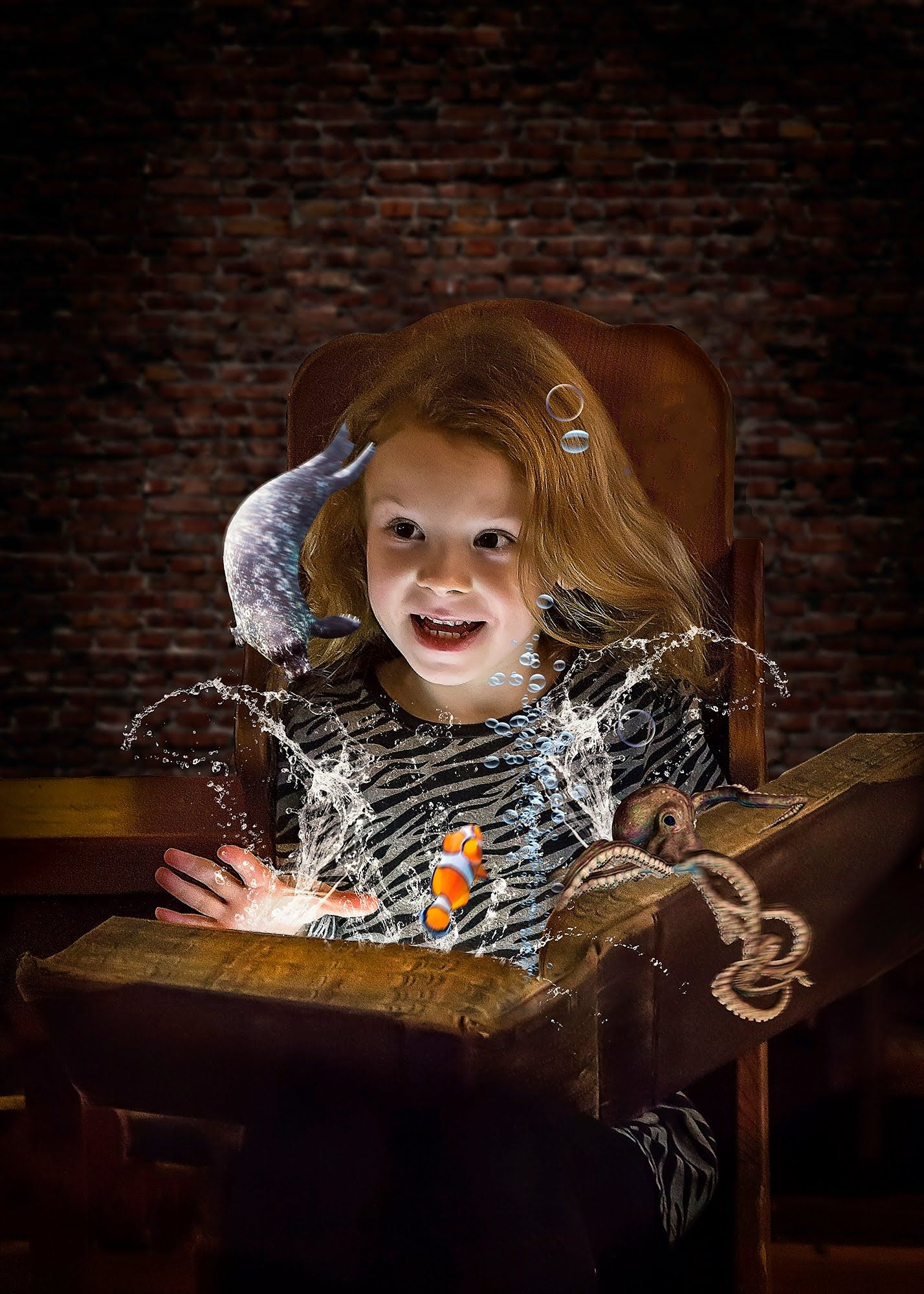 Magical book comes to life in photoshop tutorial tutorials magical book comes to life in photoshop tutorial baditri Gallery
