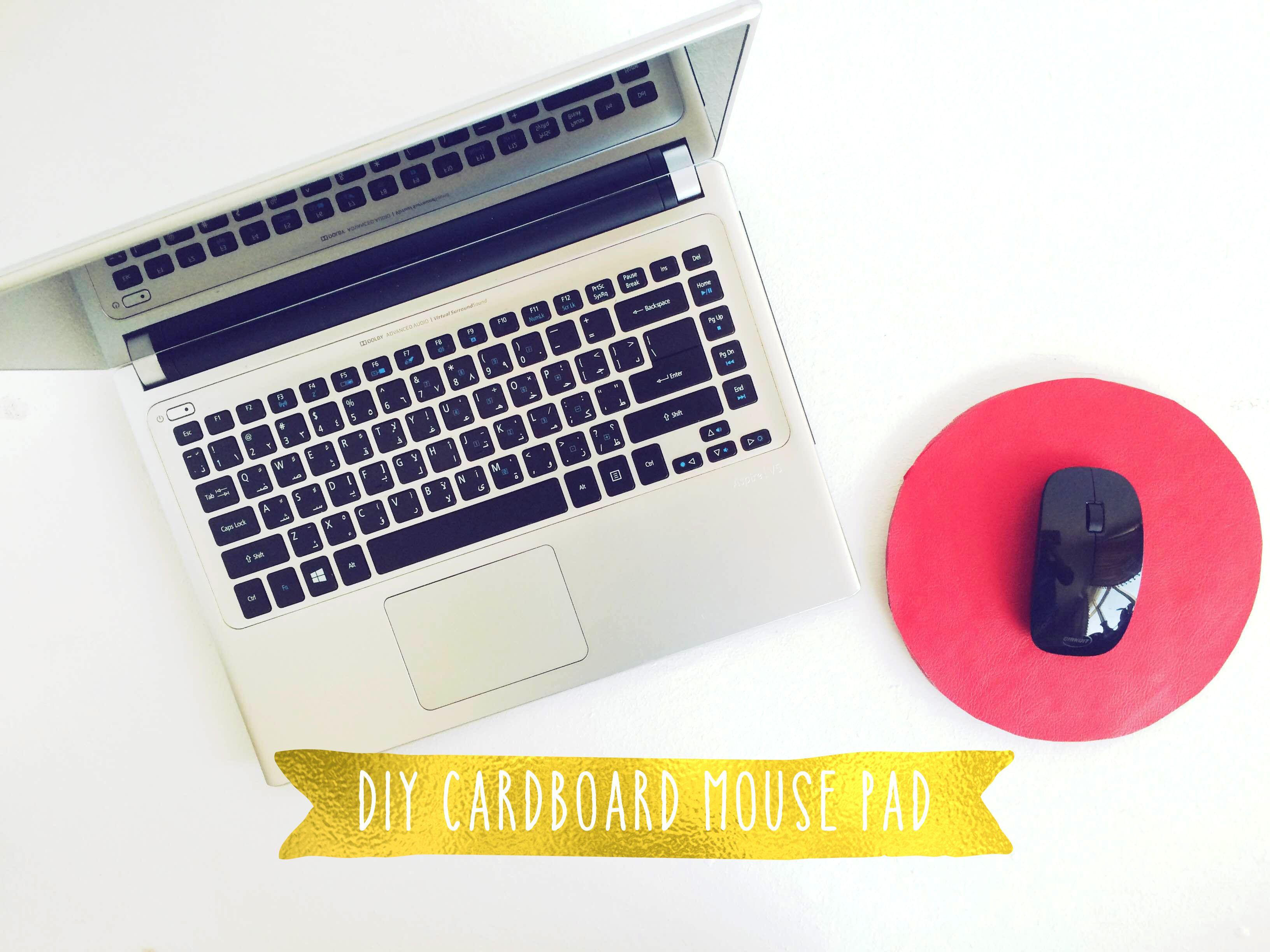 Diy Cardboard Mouse Pad Diy Mouse Pad Diy Cardboard Cardboard