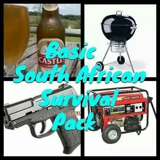 SA Survival pack