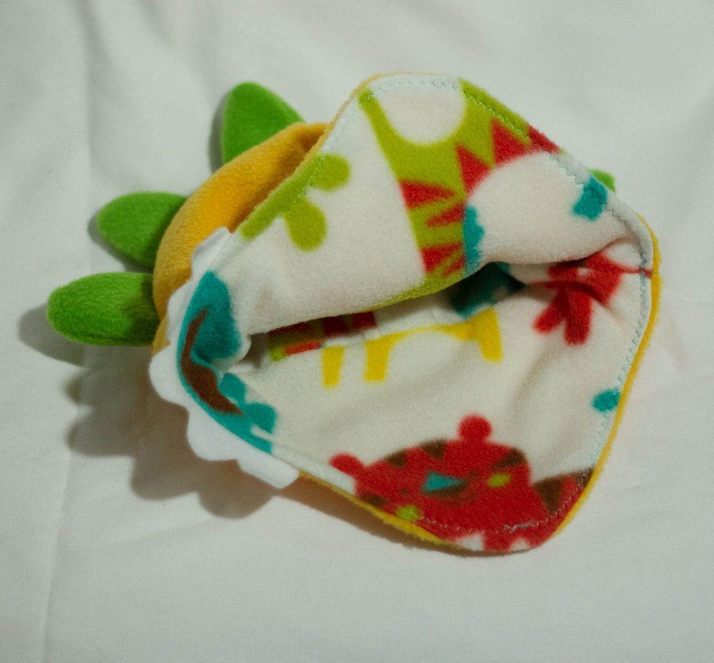 Fleece Fun Sweet Dino Earflap Hat by Craftlea on Etsy, $21.99