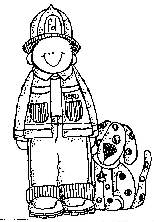 firefighter heroes coloring pages - photo#12