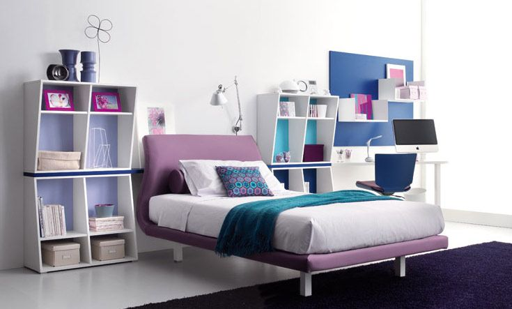 Bed For Teenager pictures-of-decorating-blue-girls-bedroom-ideas-1829 735×443