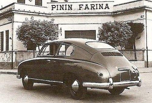 Volkswagen typ 1 från 1952 med kaross av Pininfarina