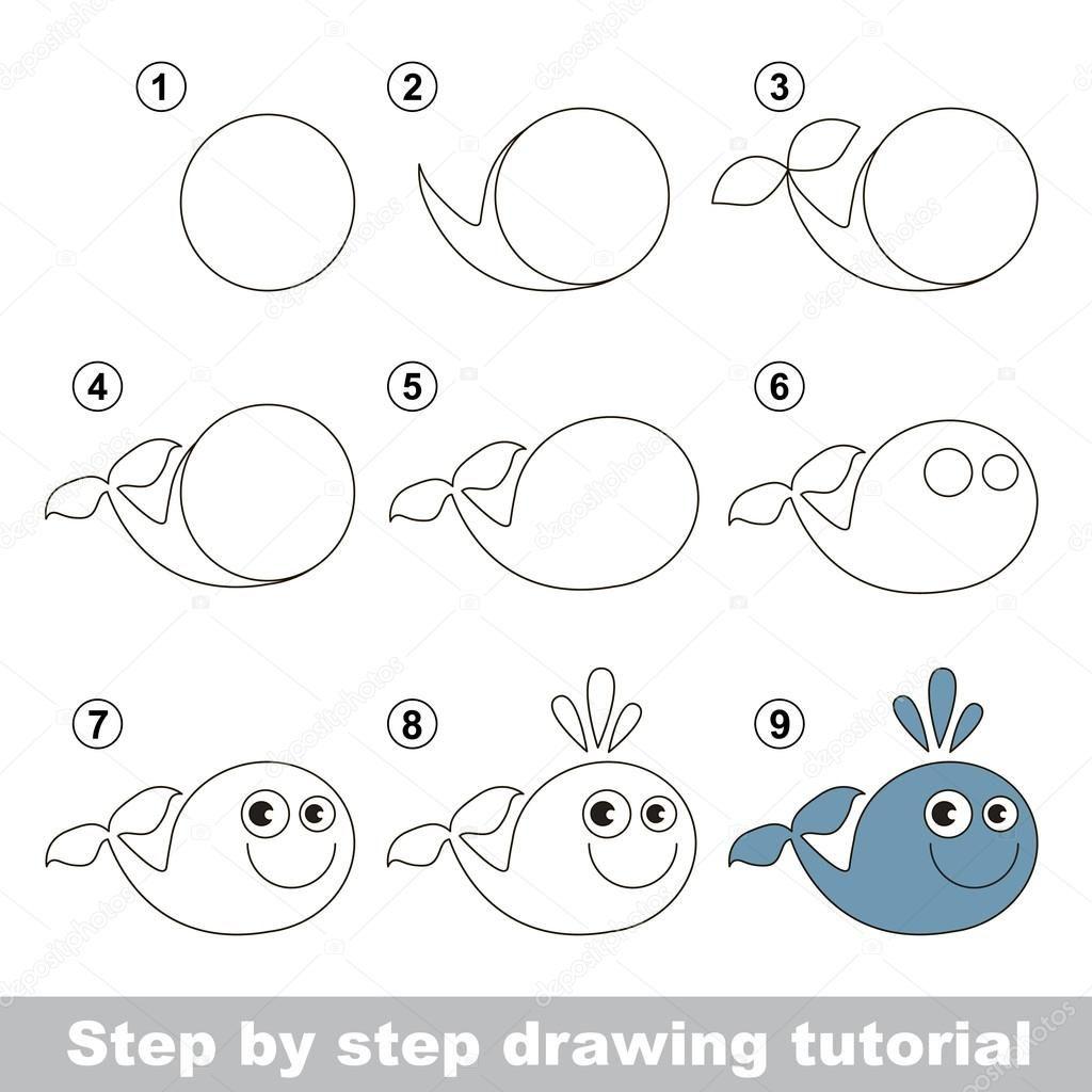 Resultado de imagen para dibujos de ballenas   ballenas   Pinterest ...