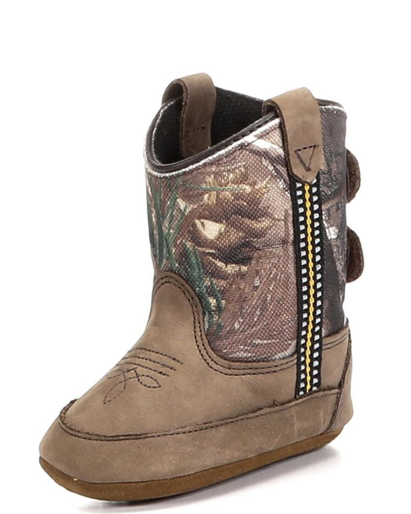 555464377 Old West Infant's Apache and Camo Poppet Boots 10039 | Products ...