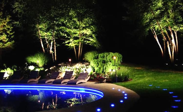 small front yard lighting ideas | Outdoor Room | Pinterest | Yard ...