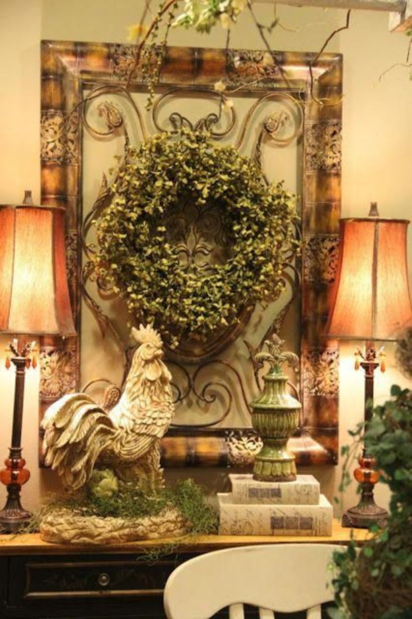 55 Magnificient Farmhouse Fall Decor Ideas On A Budget Roundecor Tuscan Decorating French Country Decorating Tuscany Decor