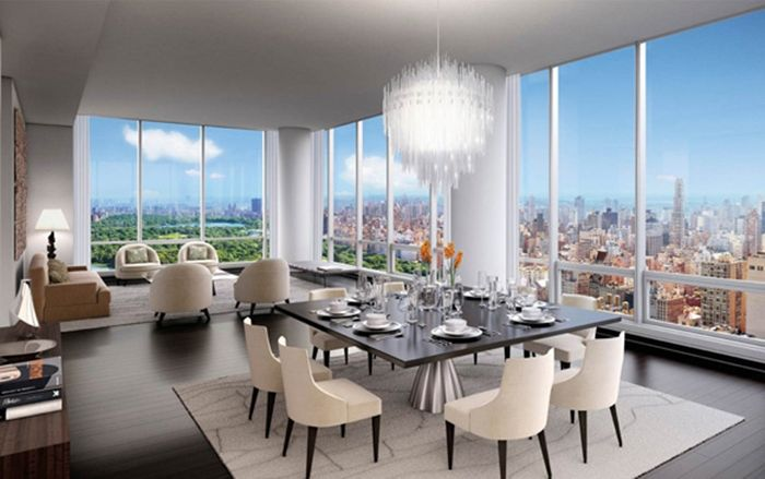 Ny Apt Furniture Placement With Large Windows Expensive S Top 10 Most In The World 7 One 57