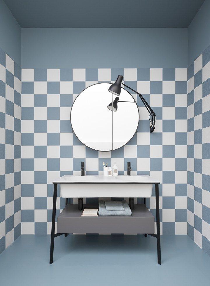 Il bagno d 39 inizio novecento come fonte di ispirazione ceramica cielo presenta la collezione i - Armadietti da bagno ...