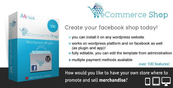 Plugins WordPress para Tiendas Online - Facebook eCommerce Shop | E ...