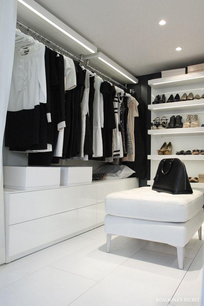 Best Dressing Room Design: 20 Scandinavian Closet Design Ideas