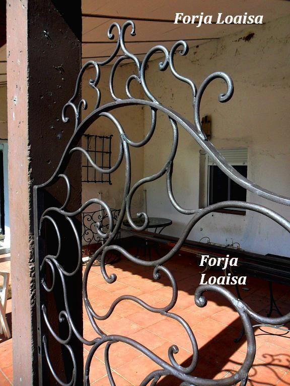 Remate De Cancela Construida En Forja Loaisa Rejas De Hierro Hierro Y Rejas