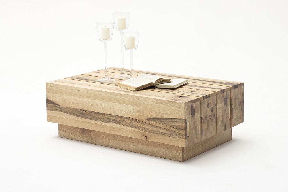 Couchtisch Eike II Wildeiche Massivholz 1 x Couchtisch moderner - couchtisch aus massivholz 25 designs