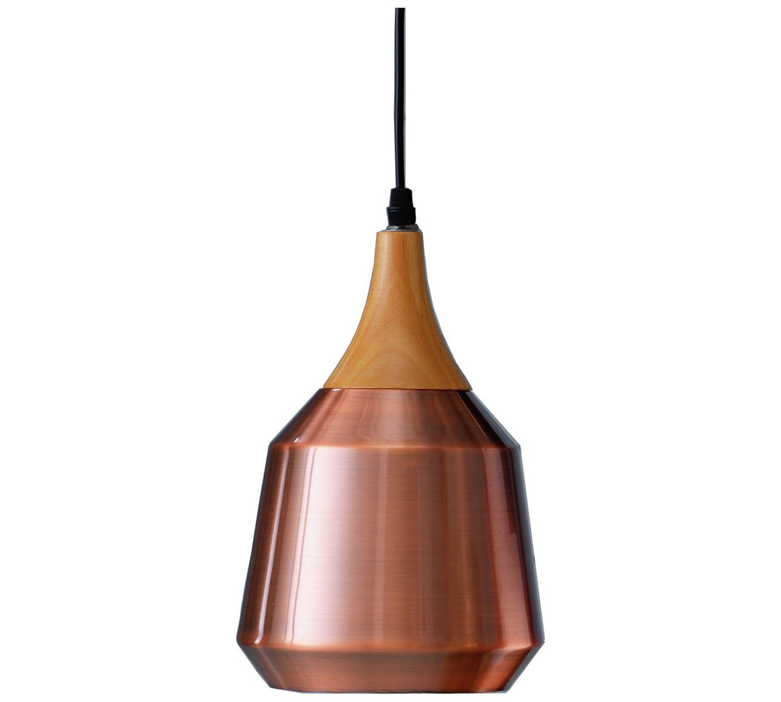 Buy Collection Coleridge Antique Copper And Wood Pendant