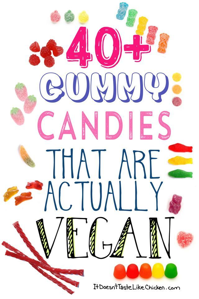 40+ Gummy Candies that are Actually Vegan