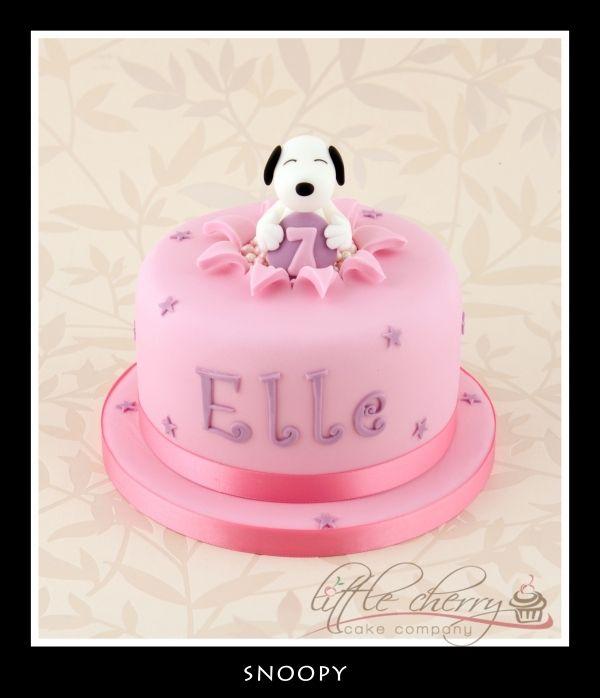 Cute Snoopy Fiesta 2 Anos Pinterest Kuchen Geburtstagskuchen