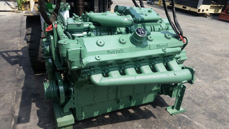 Detroit Diesel 12v 71 Engine Detroit Diesel Diesel Engine Big Trucks