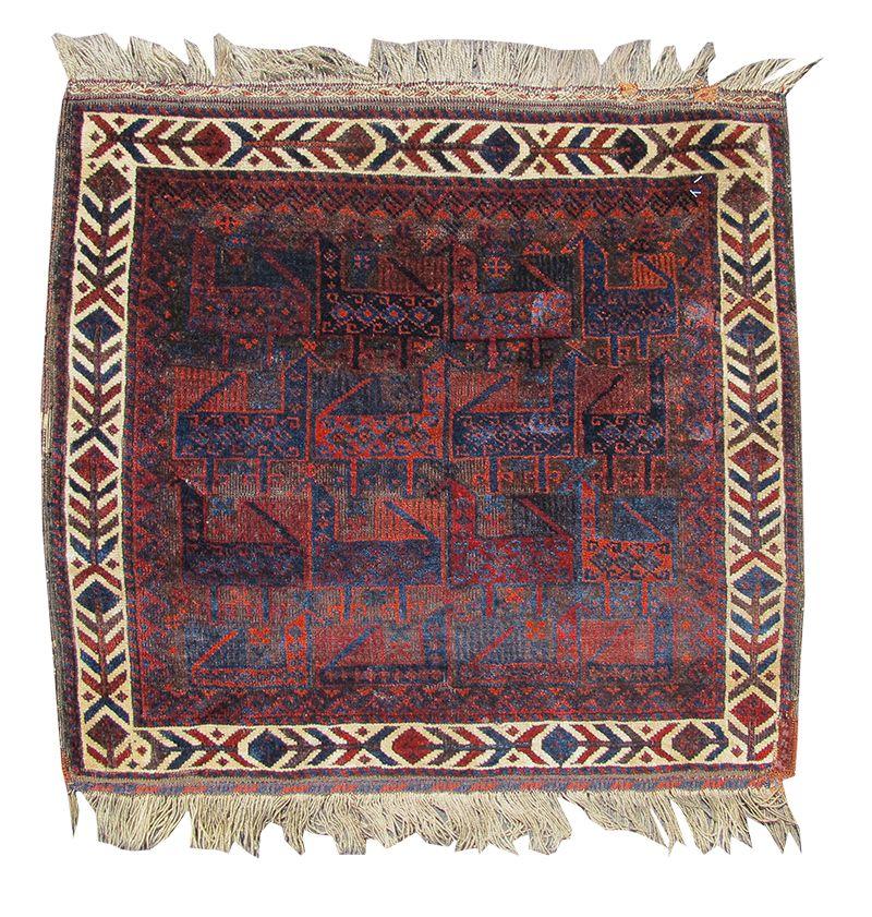 Baluch Bagface Rugs Bohemian Rug Decor