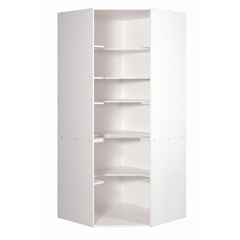 908 kaboodle corner kitchen pantry i n 2662286 bunnings for Pantry storage ideas nz
