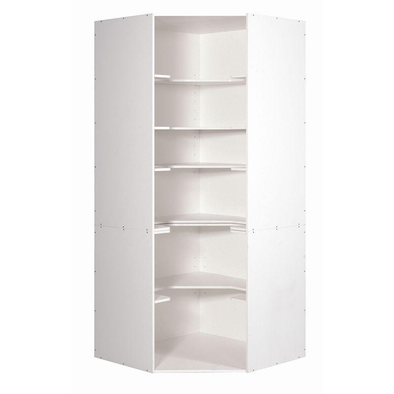 kaboodle corner kitchen pantry corner pantry corner kitchen pantry white pantry on kaboodle kitchen bunnings drawers id=90969