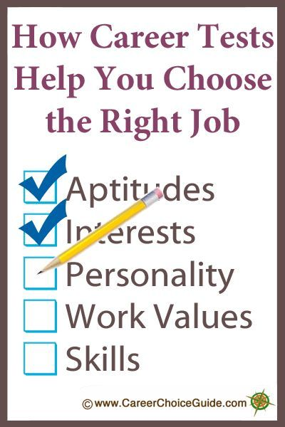 How career tests help you choose the right job wwwcareerchoiceguide