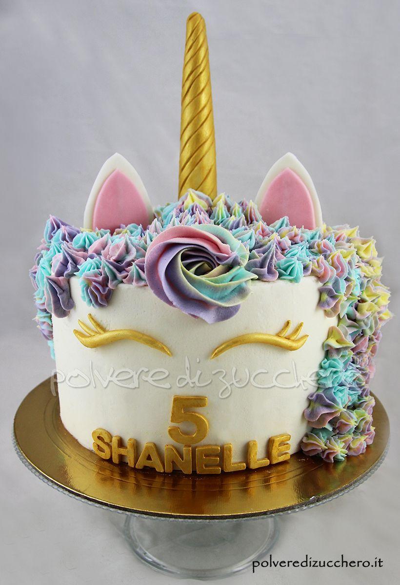 Unicorn cake torta unicorno per il compleanno di una for Semplice design a due piani